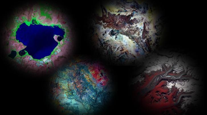 前所未见美妙星球!俯瞰地球宛如油画图片