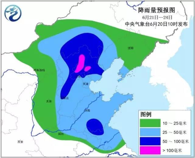 华北将迎入汛最强