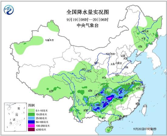 南方降雨减弱 东北华北等地多阵雨