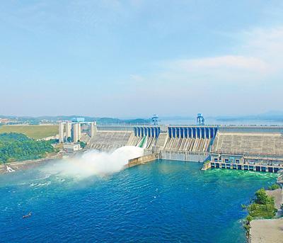丹江口水库给汉江中下游生态补水