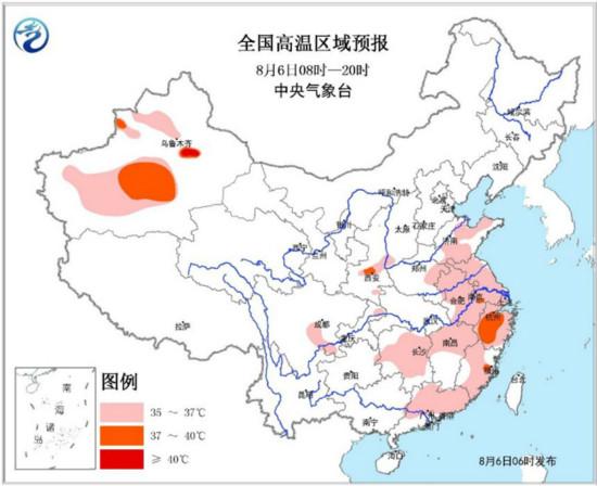 华北东北凉爽多雨 南方高温将发展加强
