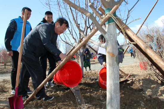 2019年共和国部长义务植树活动在京举行