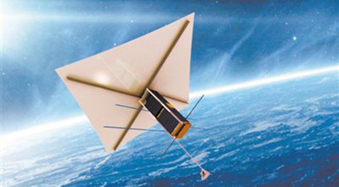 清理太空垃圾人人有责 这颗卫星打算回收自己