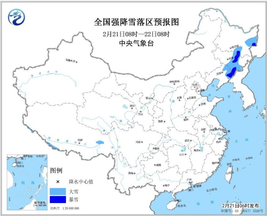 �|北地�^�⒂休^��降雪青藏高原南