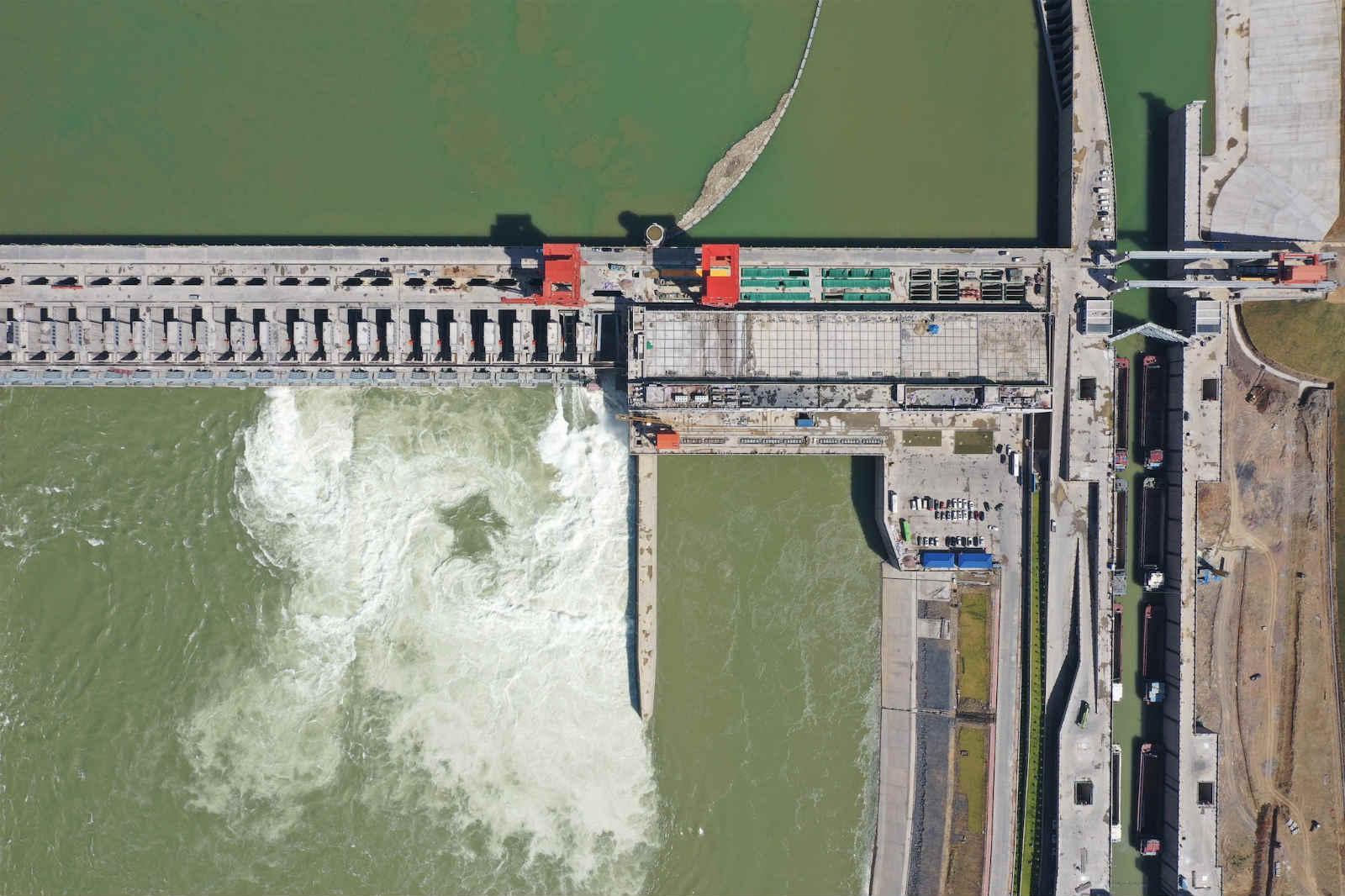 大藤峡水利枢纽左岸工程全面投产运行 为地方经济社会高质量发展提供多重助力