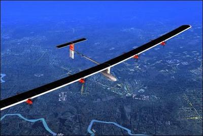 巨型太阳能飞机拟环球飞行