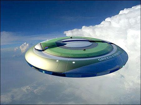 荷兰计划研发新型绿色环保飞机 外形酷似飞碟