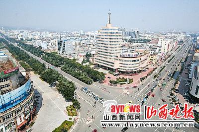 晋城市街景-触摸山西三城之变 更新更美更惊艳图片